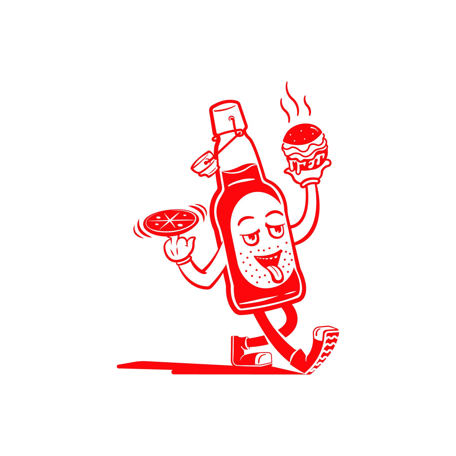 Hotbox Mascot