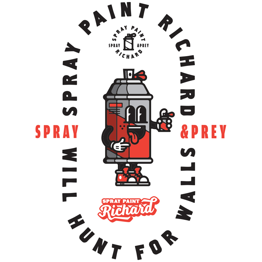 Spray Paint Richard