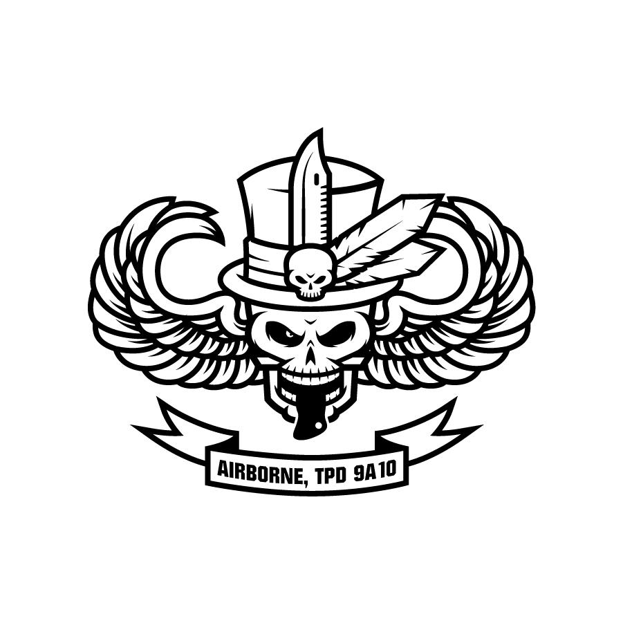 US Army Airborne Baron Samedi