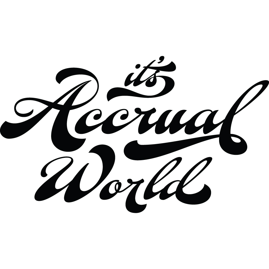 It's Accrual World