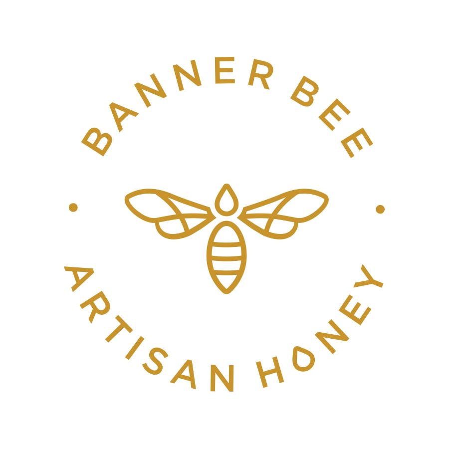 Banner Bee Honey Seal
