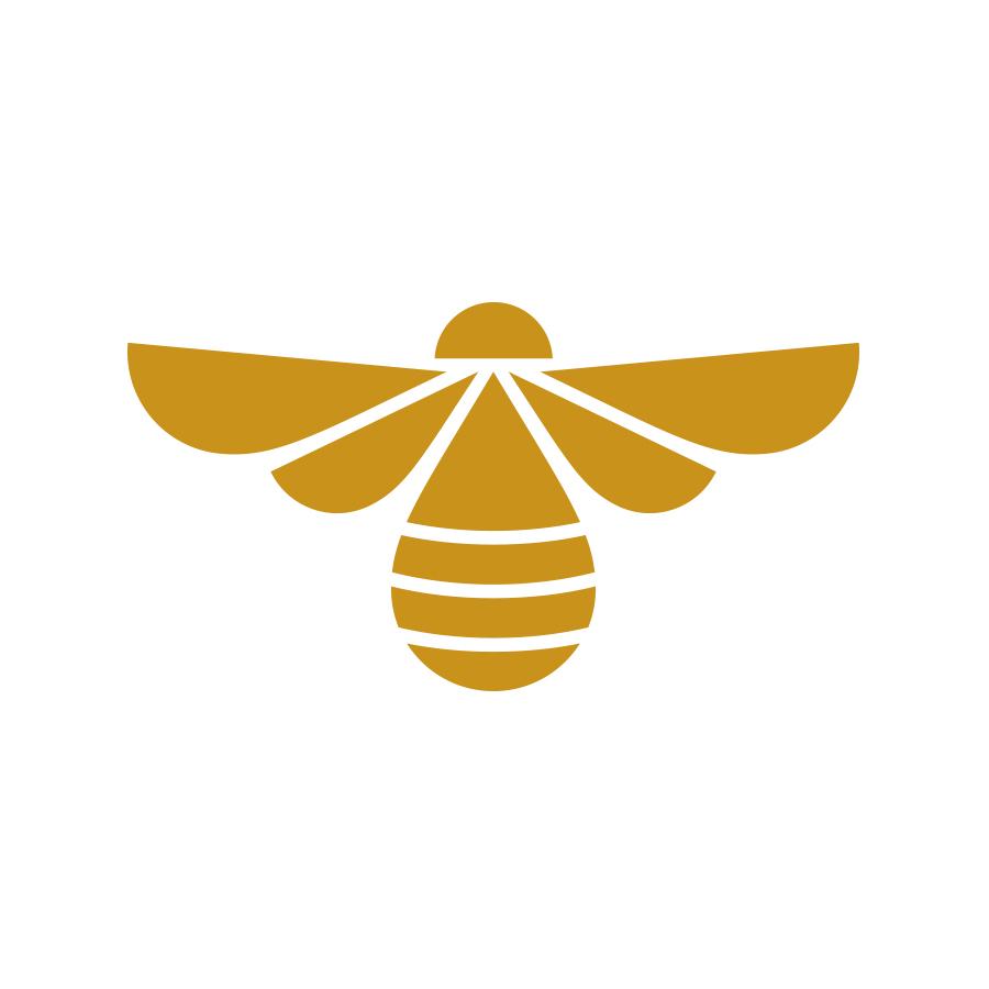 Banner Bee Logo - Version 2 Brandmark