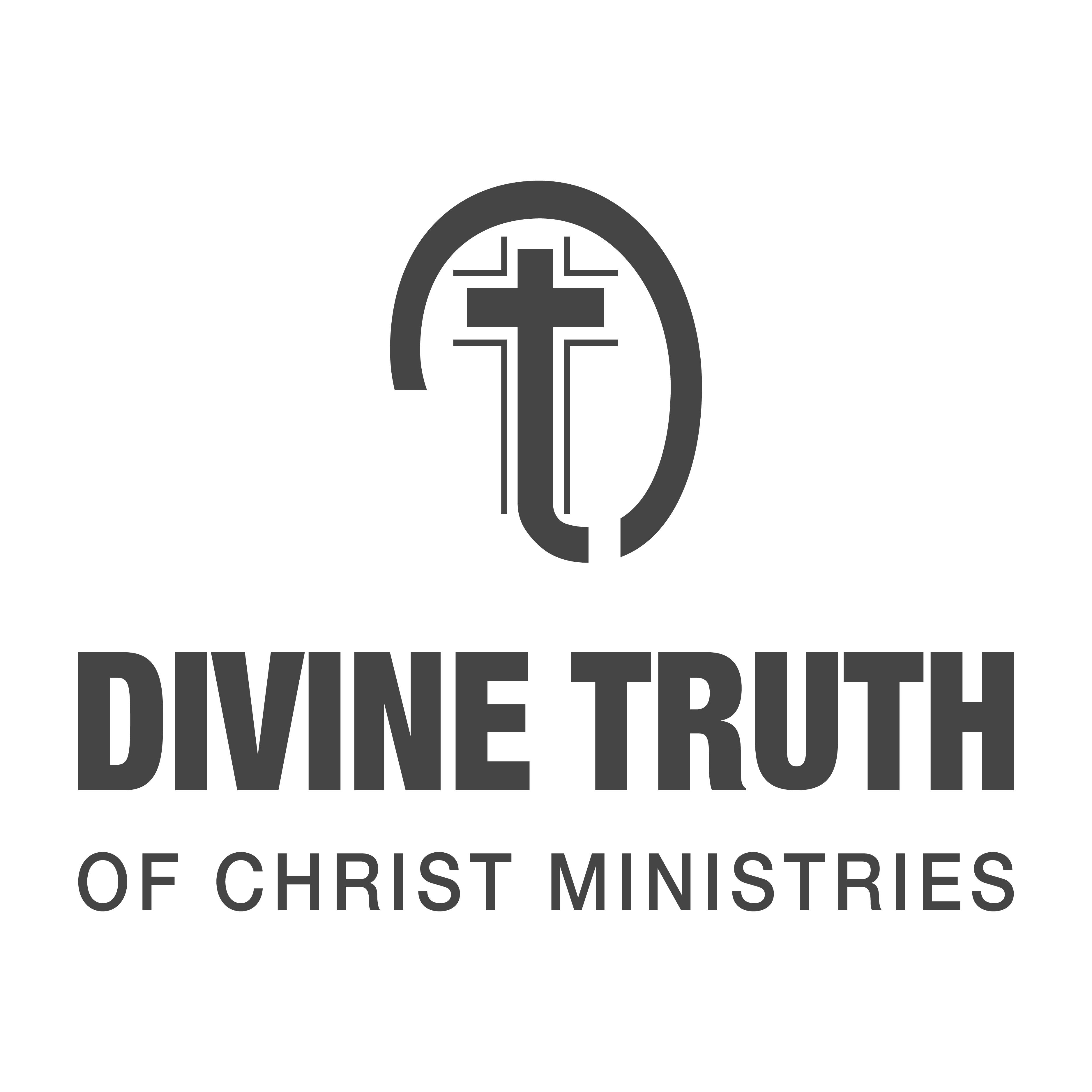 Divine Truth of Christ Ministries Logo logo design by logo designer Stewardesign Studios