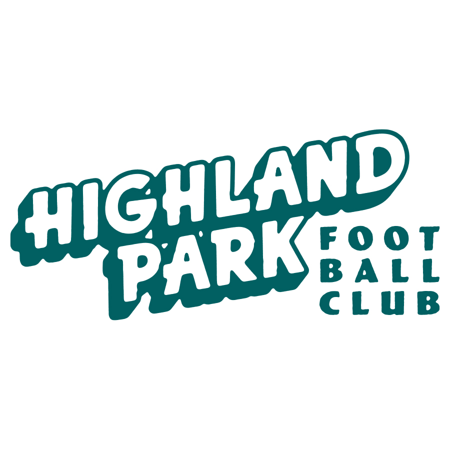 Highland Park FC logo design by logo designer Michael Lindsey for your inspiration and for the worlds largest logo competition