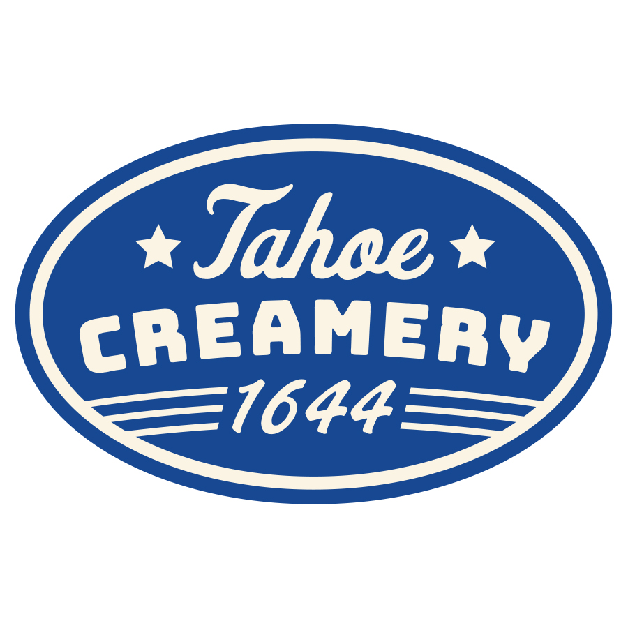 Tahoe Creamery 1644 logo design by logo designer Michael Lindsey for your inspiration and for the worlds largest logo competition