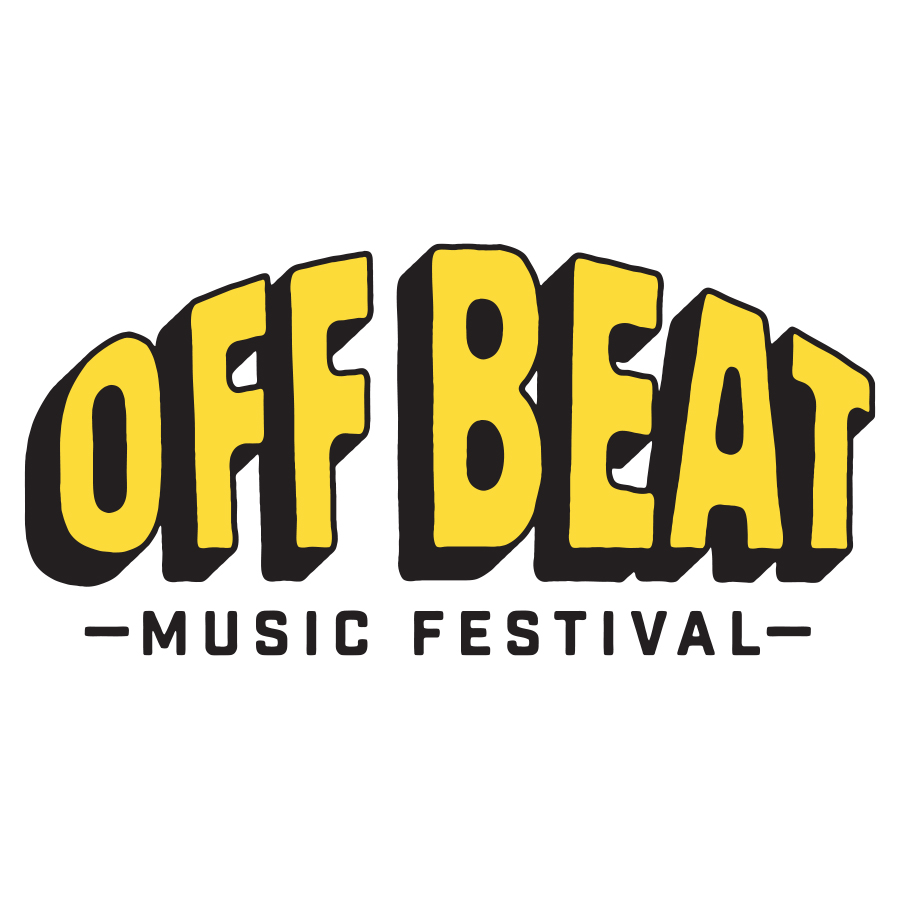Off Beat Music Festival Varient logo design by logo designer Michael Lindsey for your inspiration and for the worlds largest logo competition