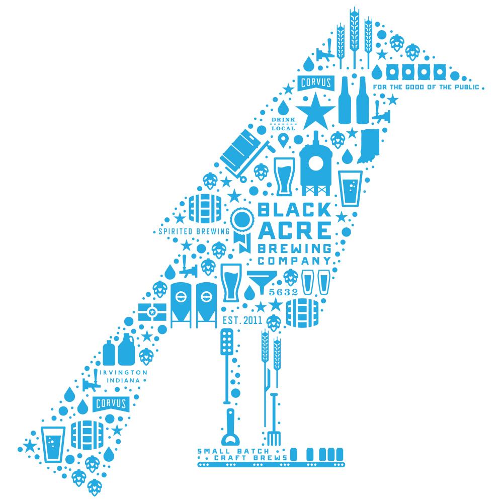 Blue Corvus logo design by logo designer Timber Design Company
