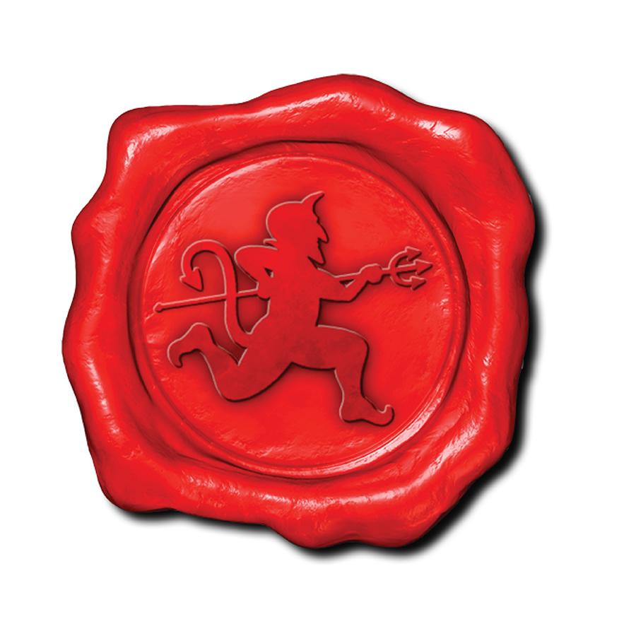 Devil Stamp logo design by logo designer Greg Walters Design
