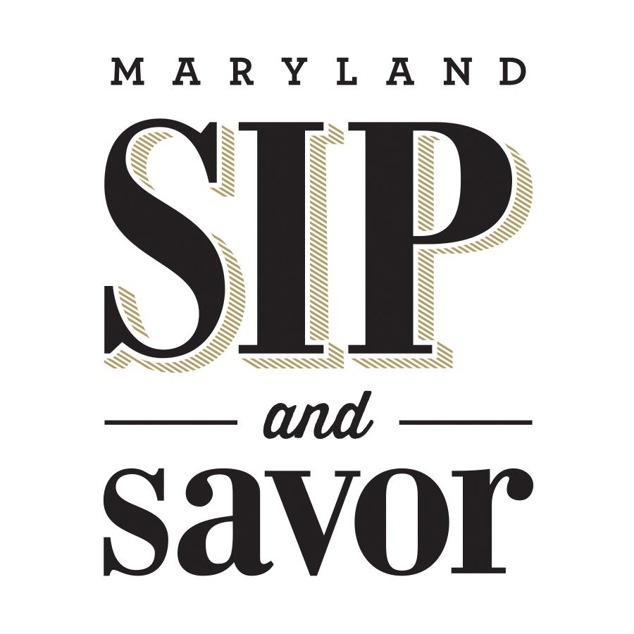 Maryland Sip and Savor logo design by logo designer Concept Hive