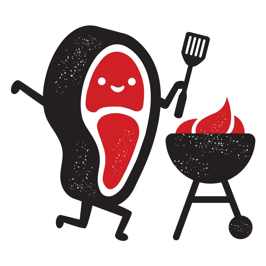 Ranchly Steak logo design by logo designer Concept Hive