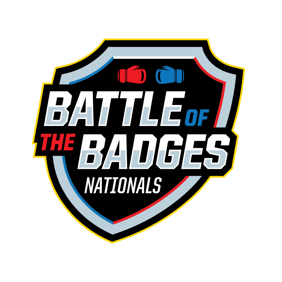 Battle of the Badges Nationals logo design by logo designer 343 Creative for your inspiration and for the worlds largest logo competition