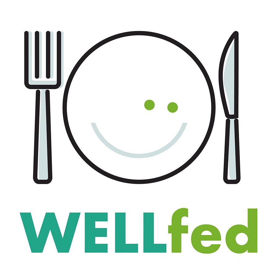 WELLfed logo design by logo designer Blue Storm Design