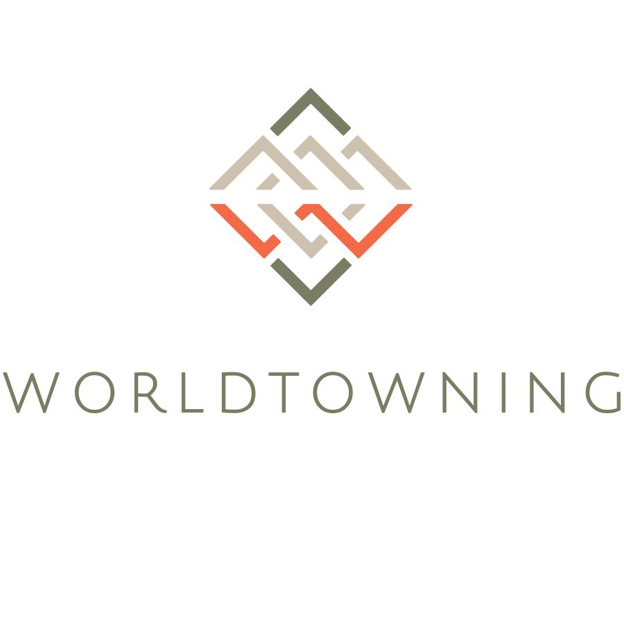 WorldTowning Logo logo design by logo designer Hagopian Ink