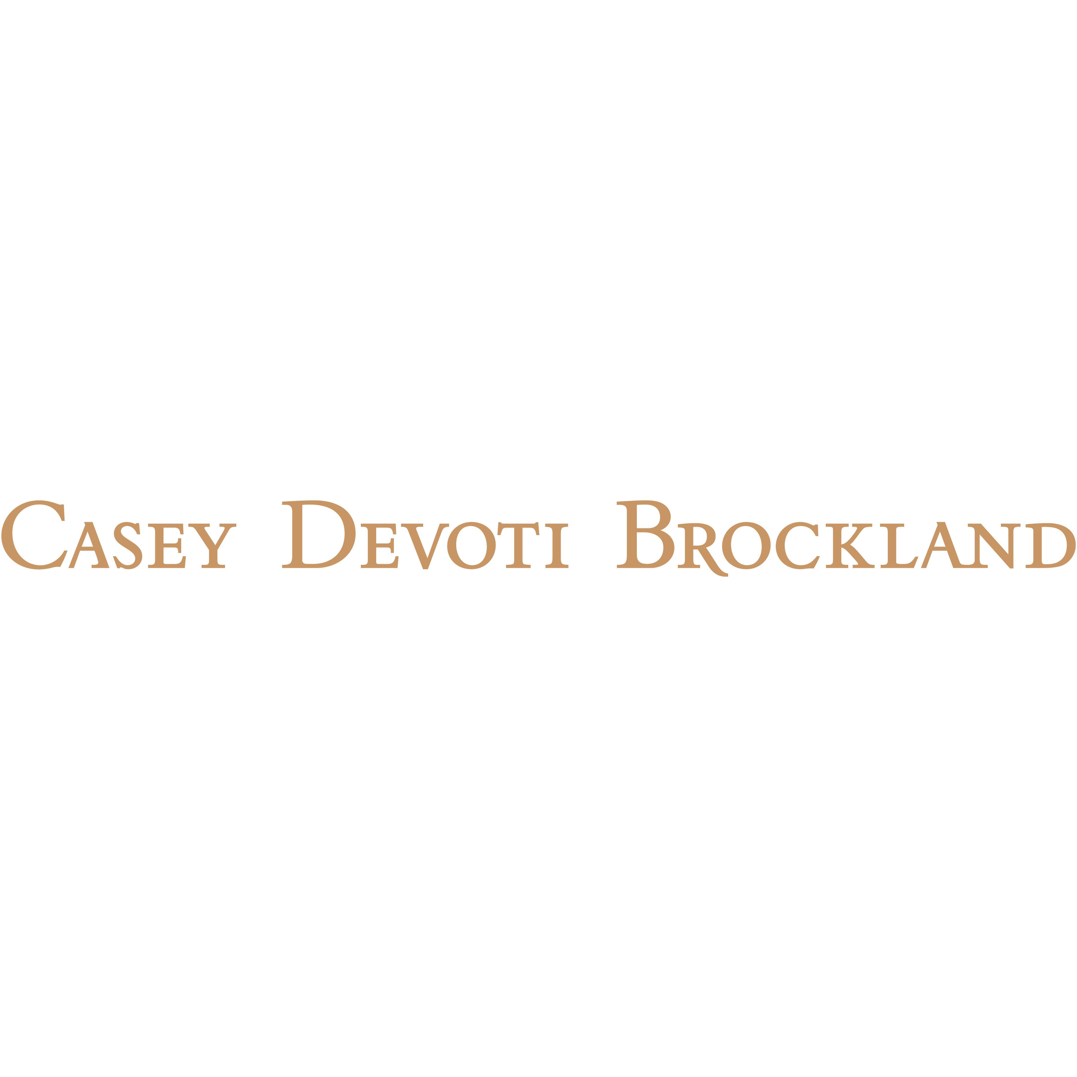 Casey Devoti & Brockland Logo 3