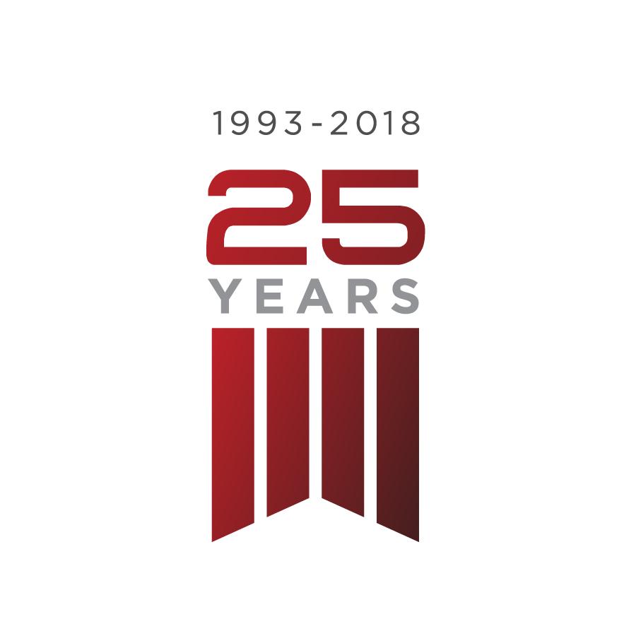 Omni Air International 25-Year Logo