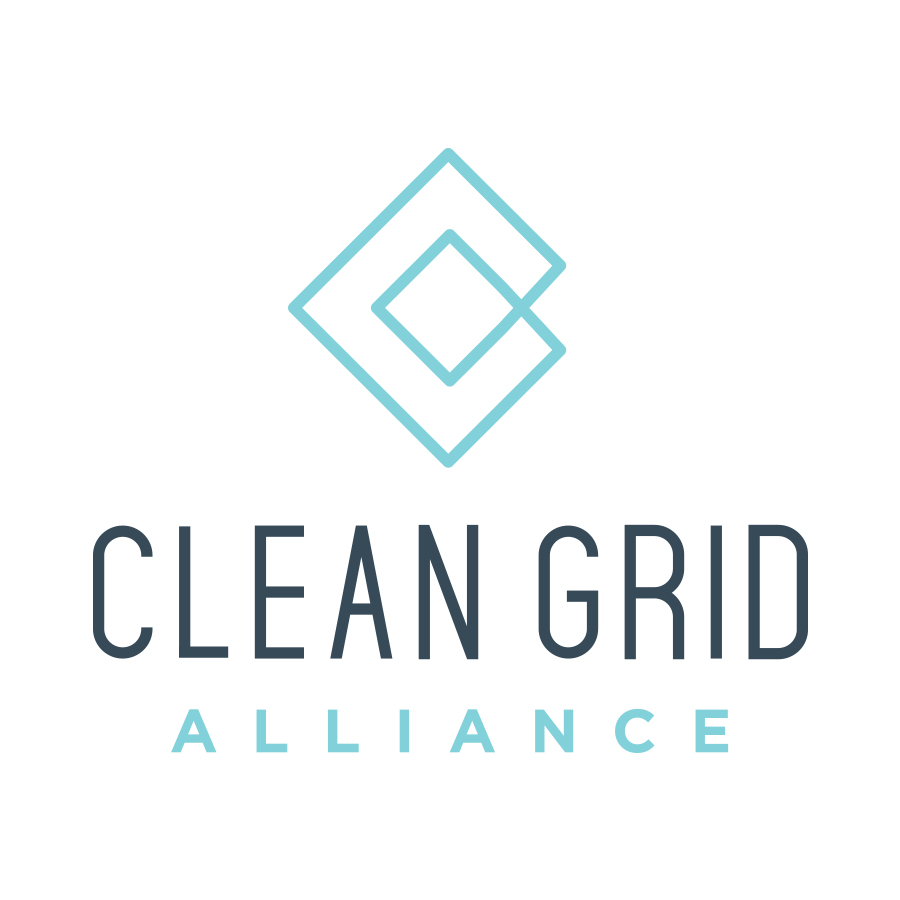 Clean Grid Alliance Logo Stacked