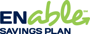 Enable Savings Plan Vertical logo design by logo designer DAAKE Design, Inc for your inspiration and for the worlds largest logo competition