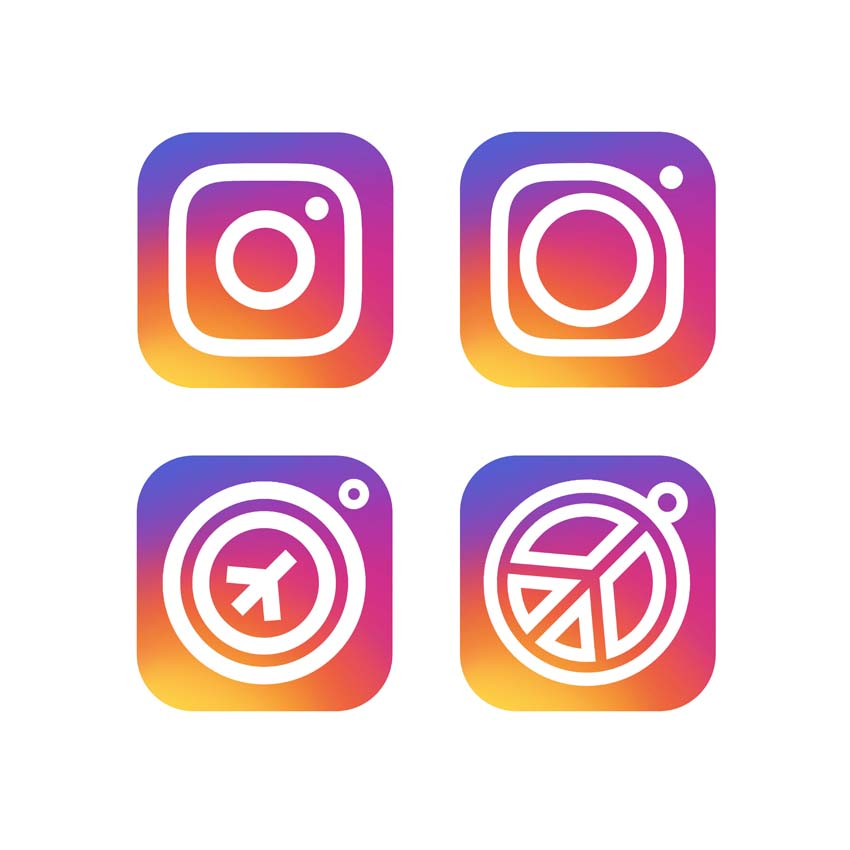 Instapeace logo design by logo designer Karl Design Vienna for your inspiration and for the worlds largest logo competition