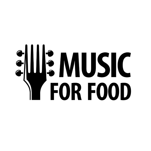 Music for Food logo design by logo designer Karl Design Vienna for your inspiration and for the worlds largest logo competition