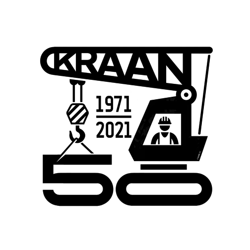 Kraan 50th anniversary logo design by logo designer Karl Design Vienna for your inspiration and for the worlds largest logo competition