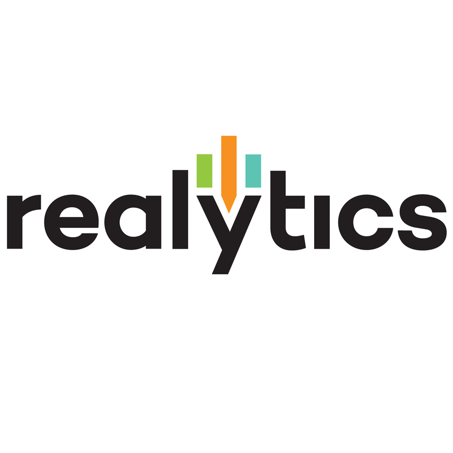 Realytics logo design by logo designer Taylor Design for your inspiration and for the worlds largest logo competition