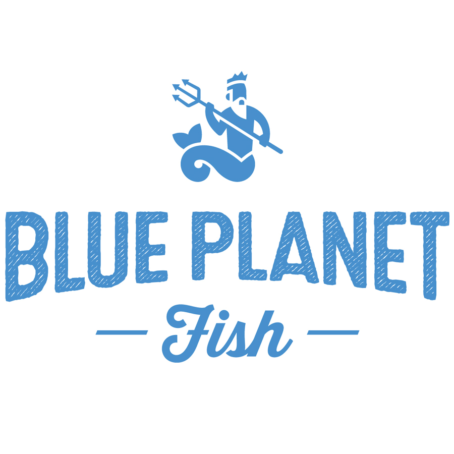 Blue Planet Fish logo design by logo designer Taylor Design for your inspiration and for the worlds largest logo competition