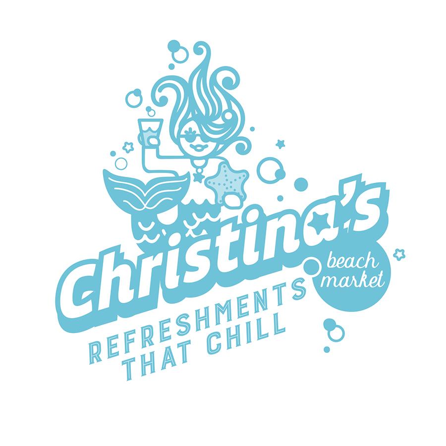 Christinas Beach Market LogoL