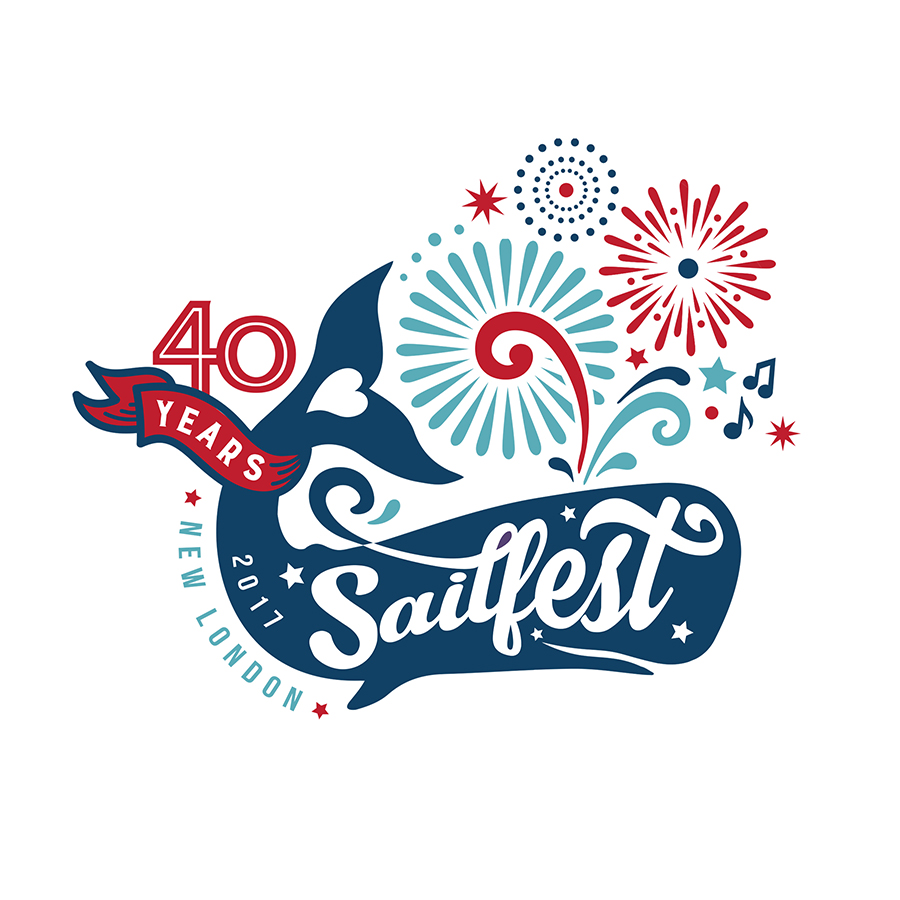 Sailfest 40th Anniversary Logo