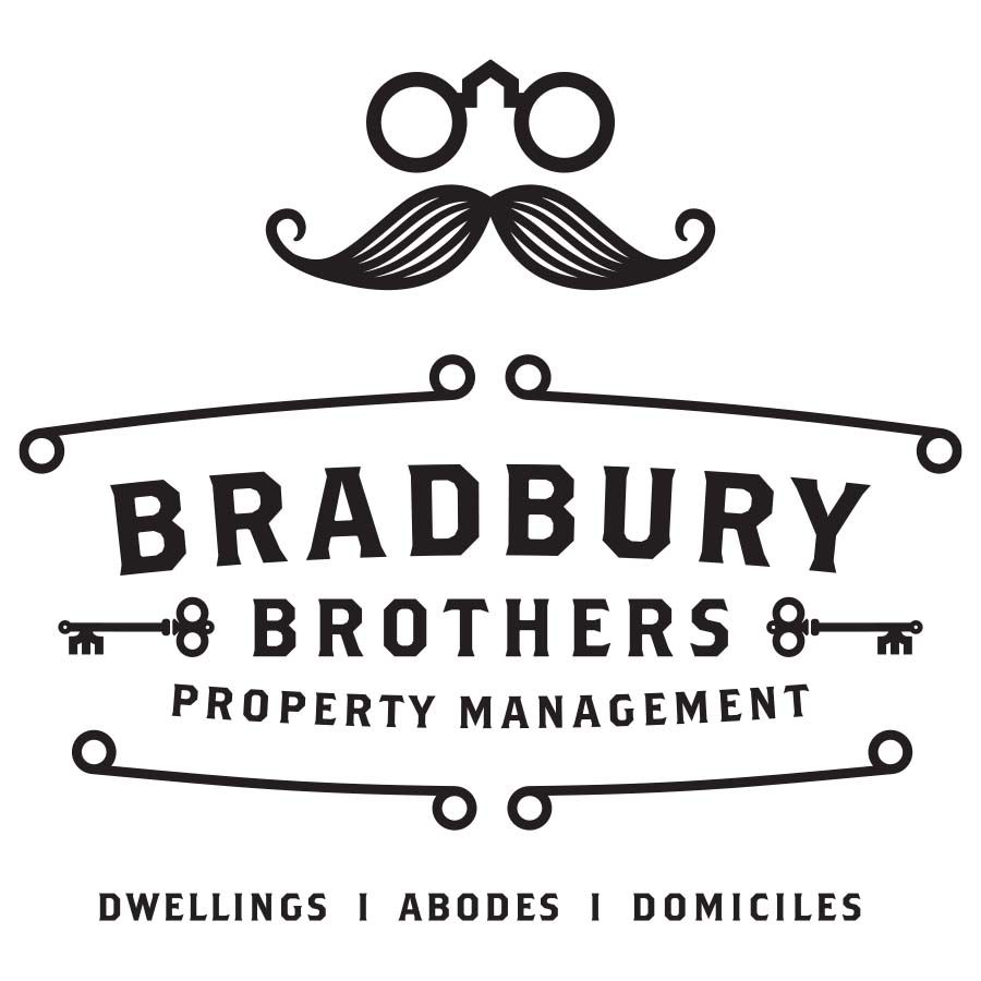 Bradbury Brothers Property Management logo design by logo designer W R A Y  |  W A R D for your inspiration and for the worlds largest logo competition