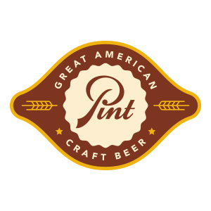 Pint logo design by logo designer Graphic D-Signs, Inc. for your inspiration and for the worlds largest logo competition