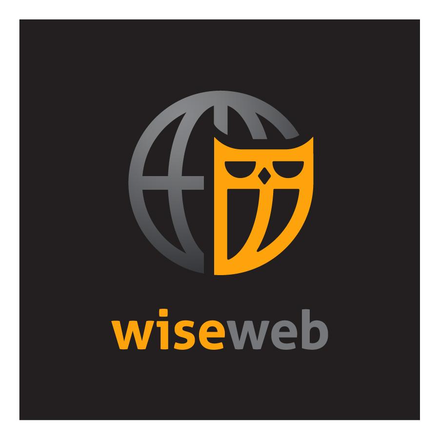 WiseWeb logo design by logo designer Jerron Ames
