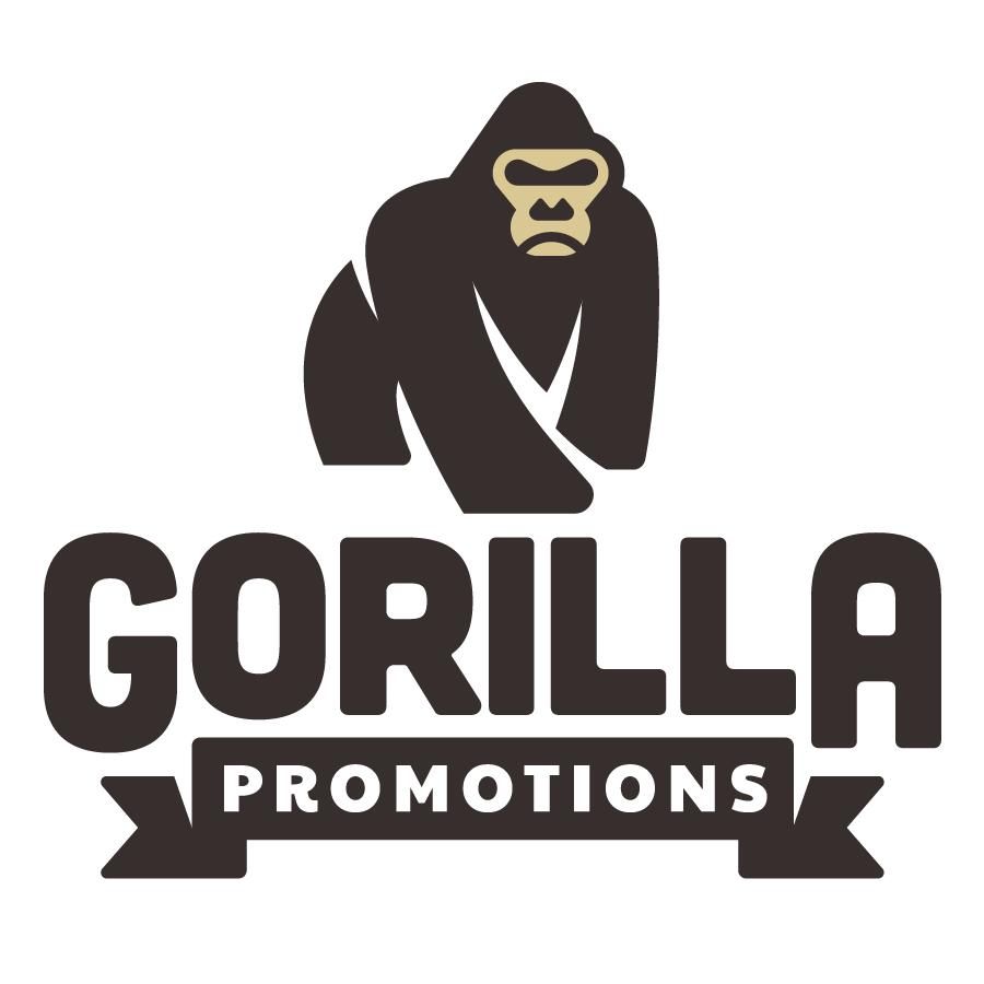 Gorilla Promotions logo design by logo designer Jerron Ames