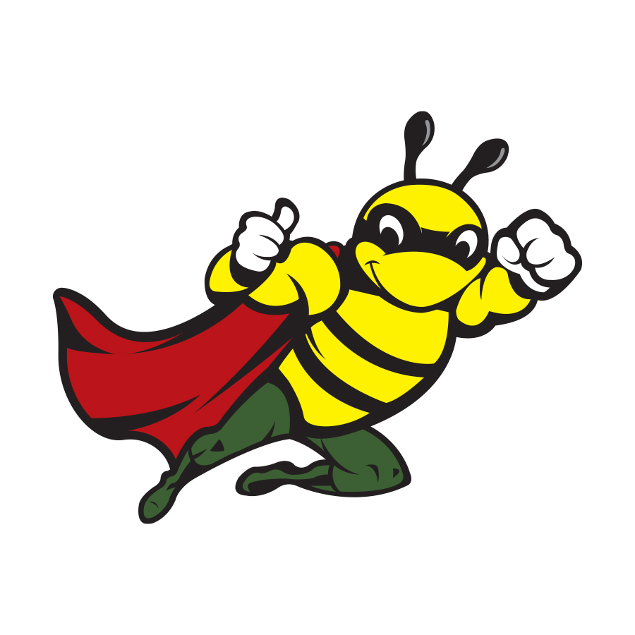 Bins Bee Clean - Mascot