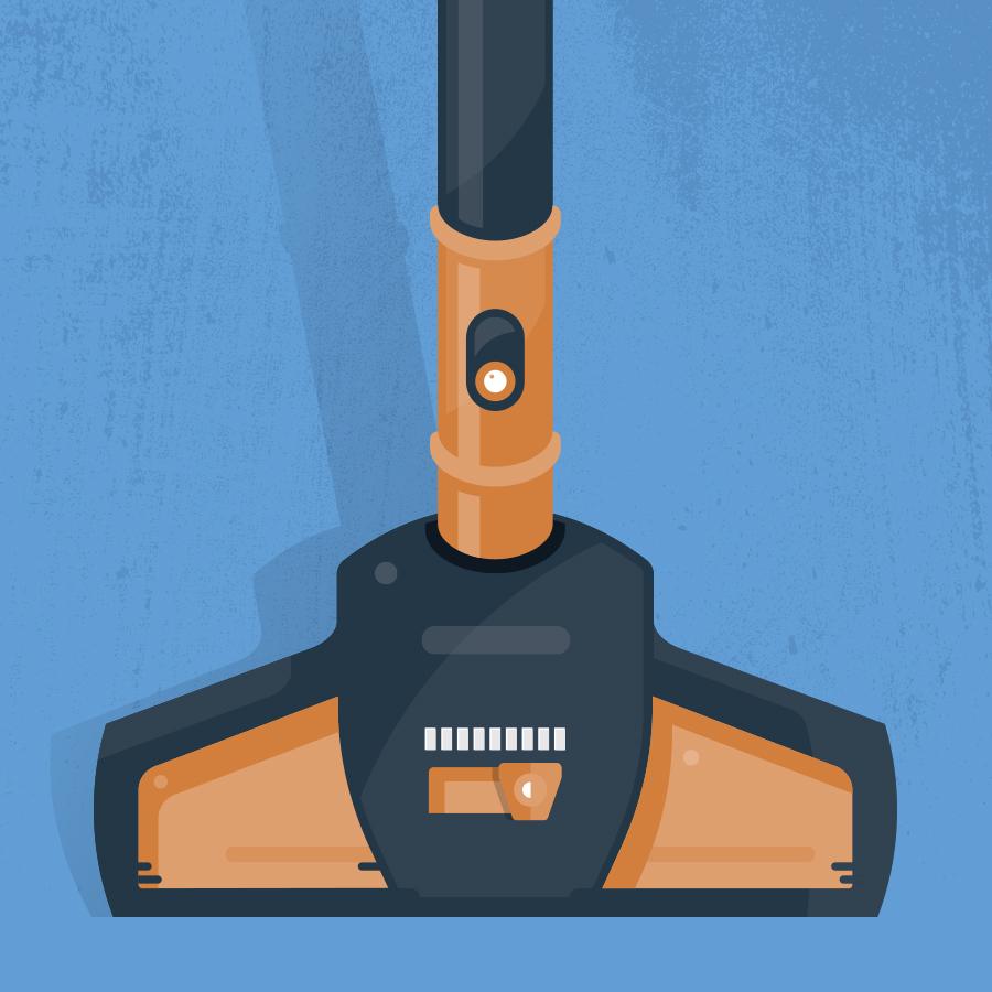 Sweeper logo design by logo designer Dustin Commer