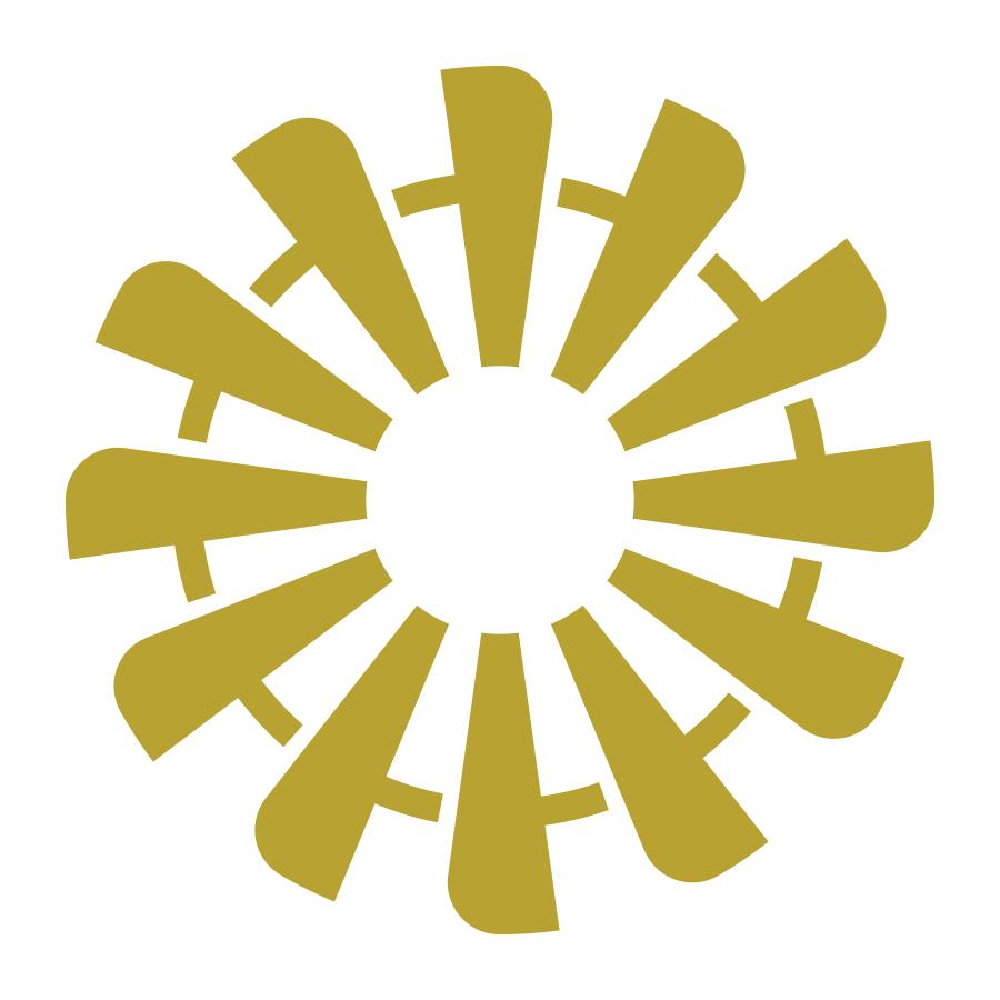 Windmill logo design by logo designer Dustin Commer