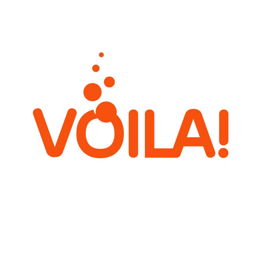 Kevin Creative Voila sparkling water logo