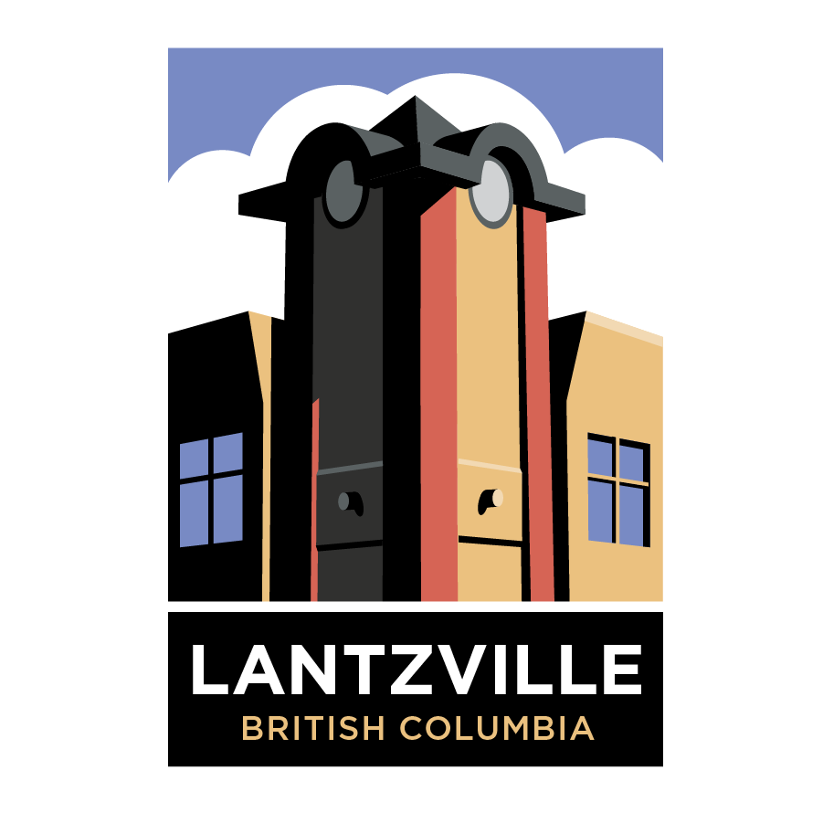 Kevin Creative logo developed for the community of Lantzville, BC