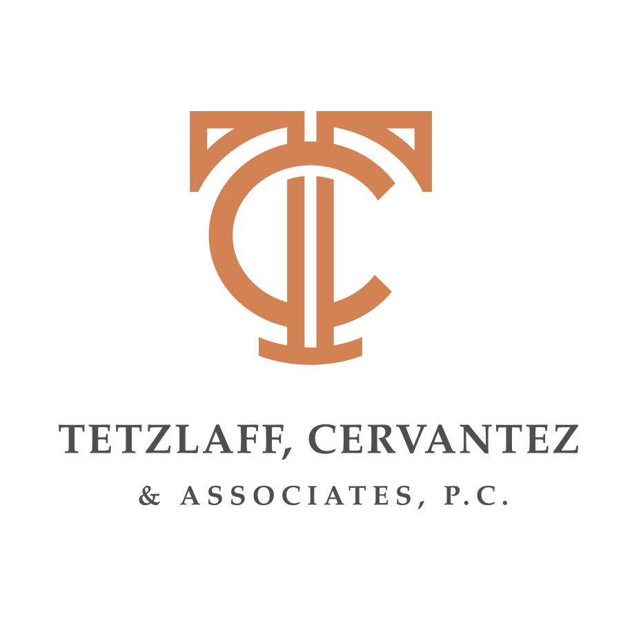 Tetzlaff Cervantez Main Logo logo design by logo designer James Arthur & Co.