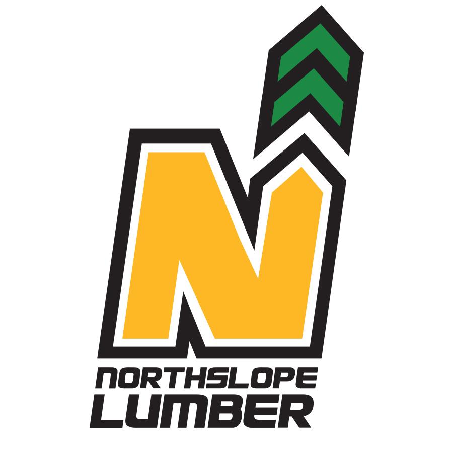 RDI_NorthSlopeLumber logo design by logo designer River Designs Inc.