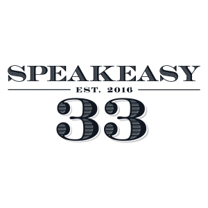 Speakeasy 33 logo design by logo designer 5Seven for your inspiration and for the worlds largest logo competition