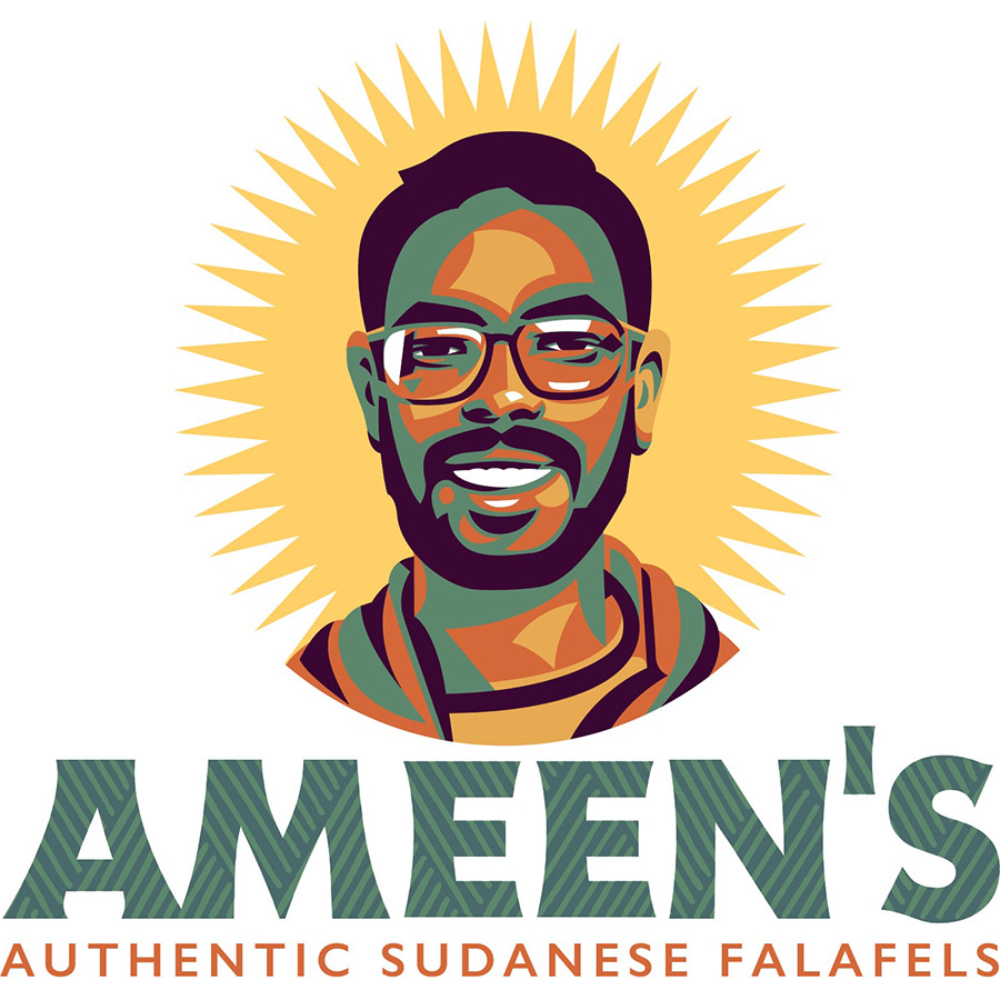 Ameen's unused 1 logo design by logo designer Sabingrafik for your inspiration and for the worlds largest logo competition