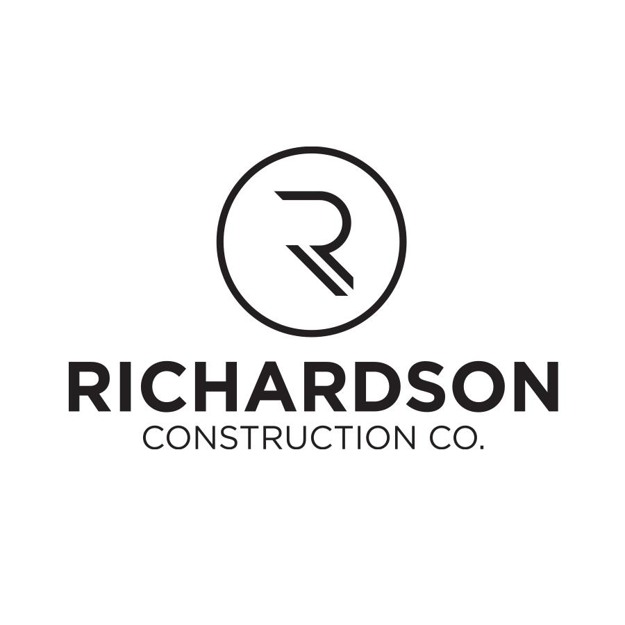 Richardson Construction Company logo design by logo designer Brown Ink Design