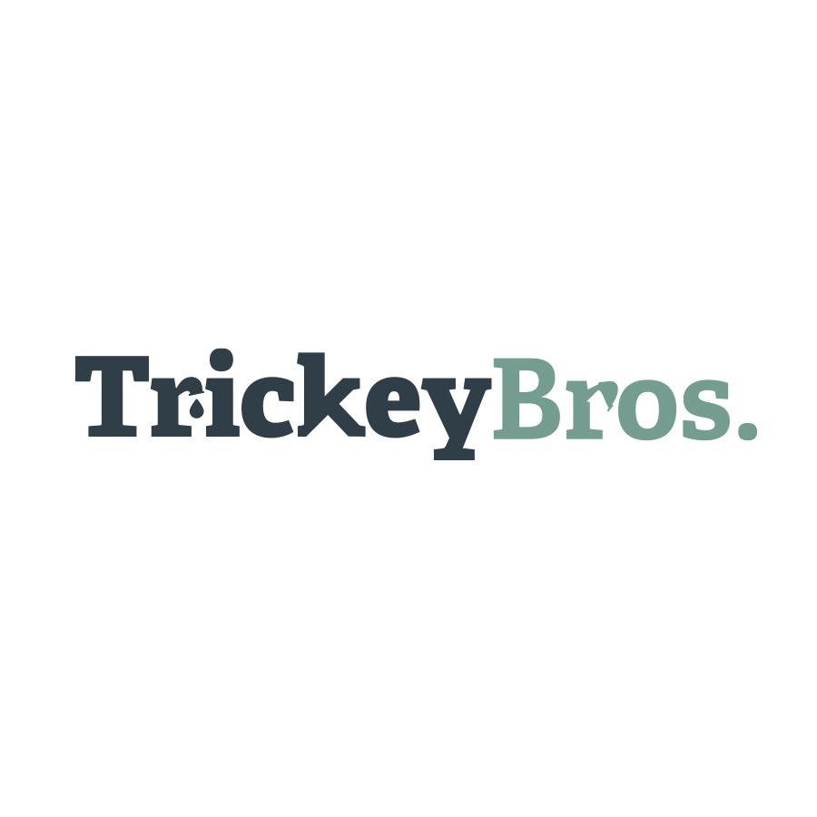 Trickey Bros. logo design by logo designer Brown Ink Design