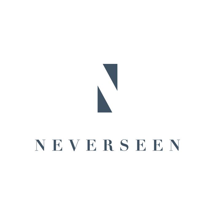 Neverseen logo design by logo designer Gut Branding