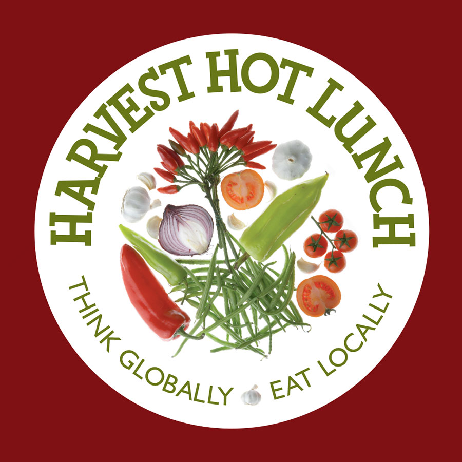 Harvest Hot Lunch Event Logo