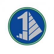 1 and Pyramid logo design by logo designer Whitney Wiedner, Graphic Designer