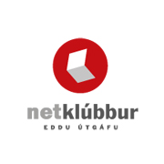 Netklubbur logo design by logo designer DAGSVERK - Design and Advertising for your inspiration and for the worlds largest logo competition