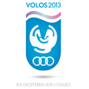 Volos 2013 Mediterranean Games Organizing Committee logo (contest's proposal)