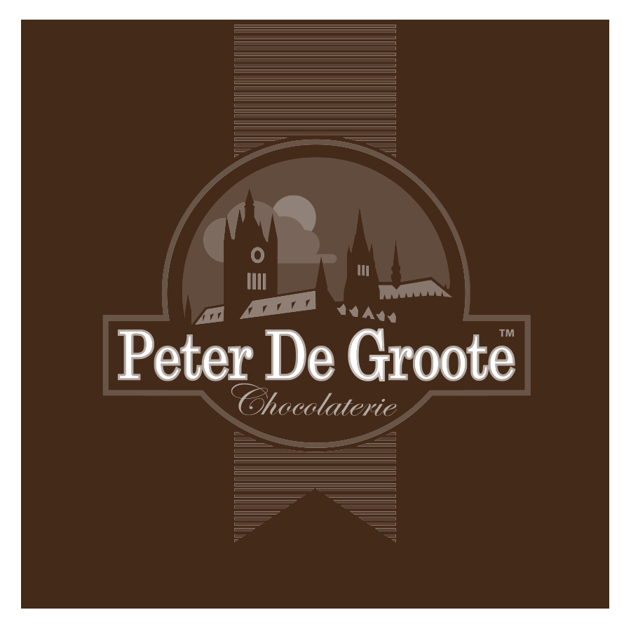 Peter De Groote logo design by logo designer Frank Toogood