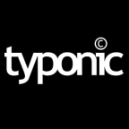 Typonic logo design by logo designer Frank Toogood